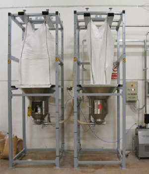 Big Bag Unloading And Filling System Rgs Vacuum Solutions